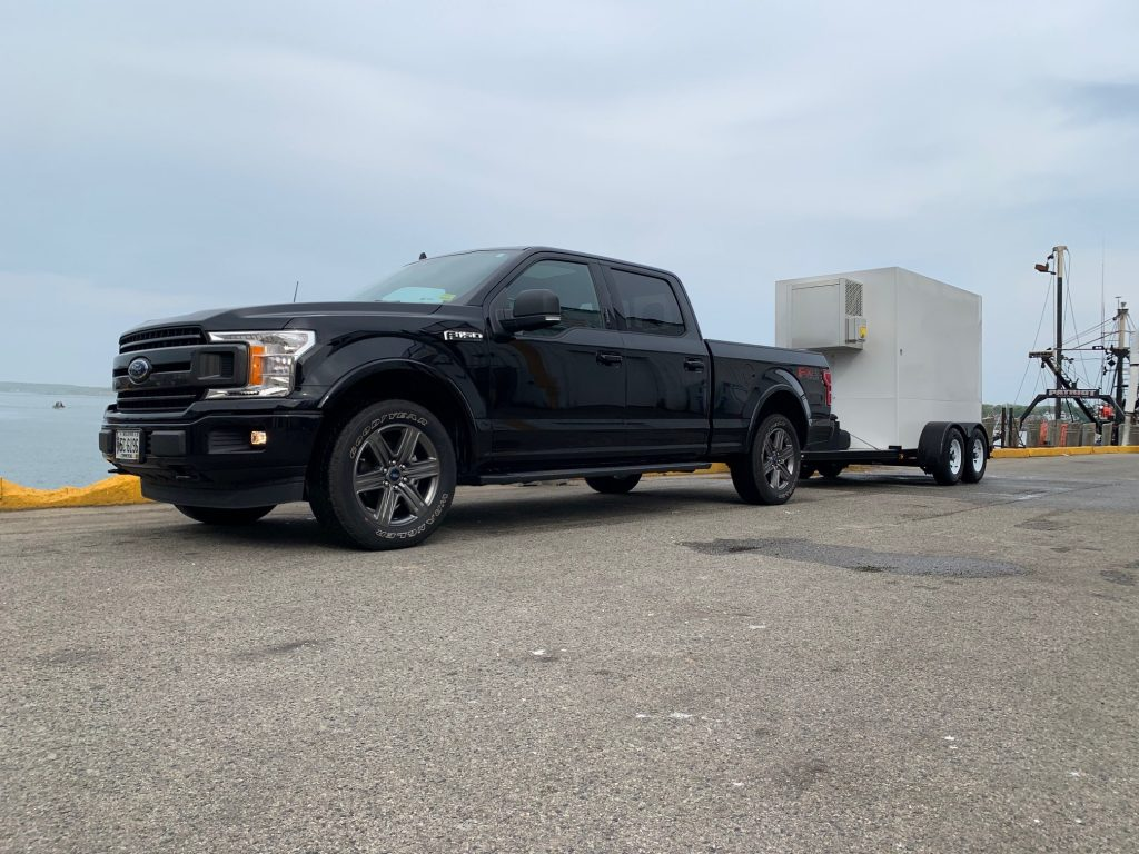 ice delivery Refrigerated Trailer